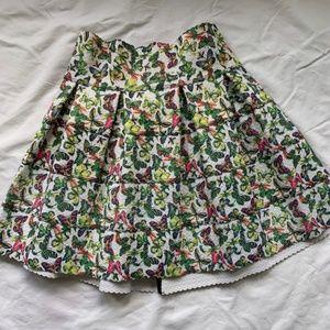 Pleasure Doing Business NWOT Butterfly Mini Skirt